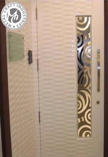 Wooden door designs best free home design idea for Door design steel jali